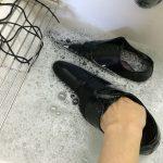 革靴の嫌な臭いを水洗いで撃退出来るか挑戦してみた結果