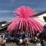 岐阜県美濃市 美濃まつりで花みこしを見てきました