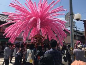 美濃祭り花みこし4