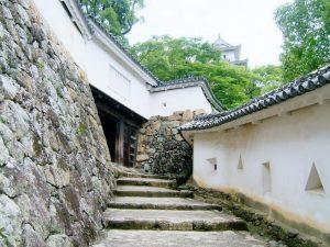 姫路城歴史内壁